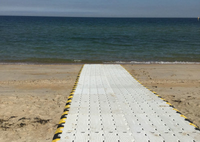 Accessible Beach Event Equipment by No Fuss Event Hire