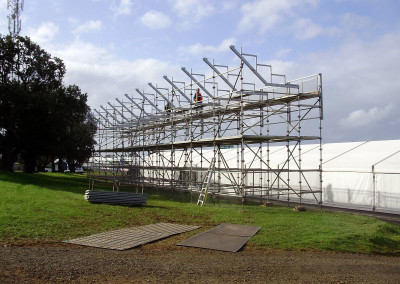 Event Scaffolding by No Fuss Seating Systems