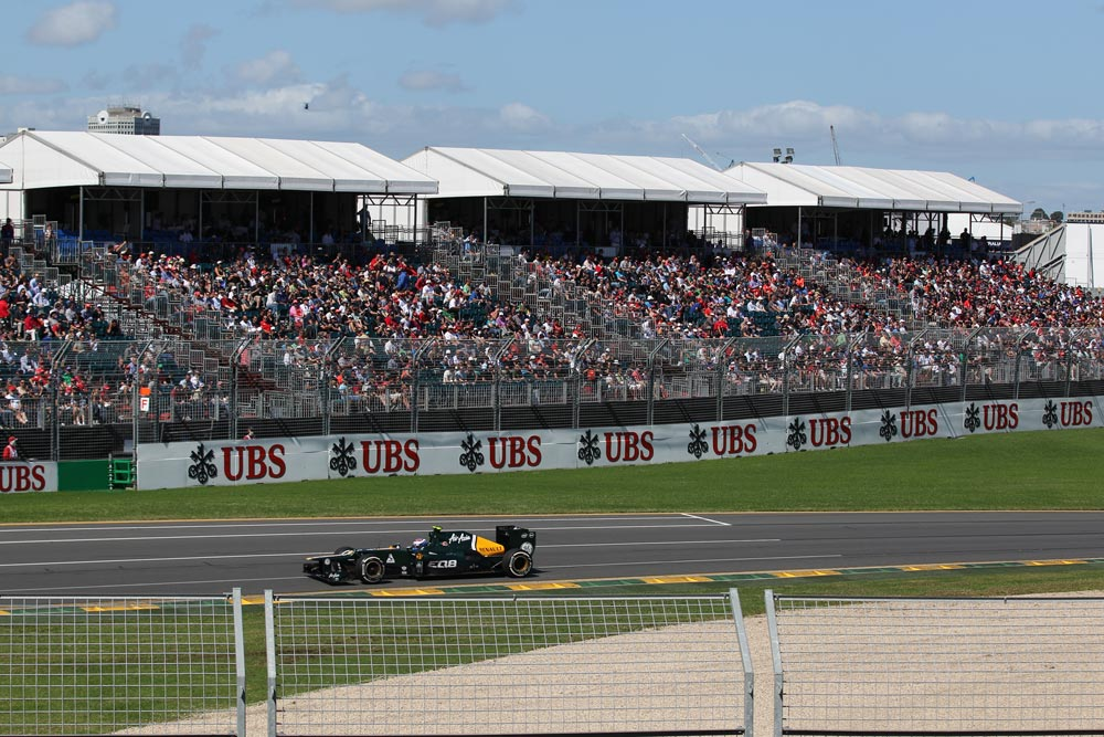 Hire Temporary Grandstand Seating. Albert Park, Melbourne Grand Prix by Australian Seating Systems