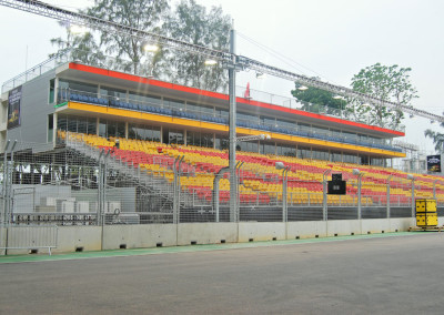 Temporary Grandstand Seating for Singapore GP by No Fuss Seating Systems
